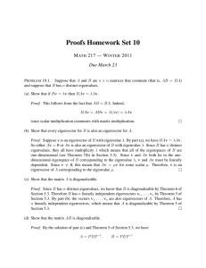 Proofs Homework Set 10