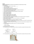 Evolution Test Review Sheet