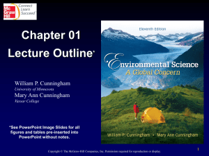 Introduction to Environmental Science ppt