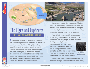 The Tigris and Euphrates - Maples Elementary School