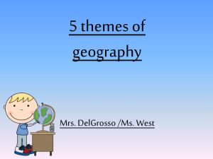 5 Themes of Geography PP - Hewlett