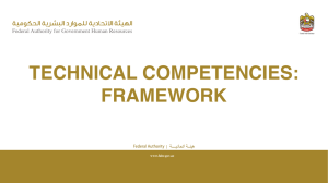 Technical Competencies Framework - English - V.00