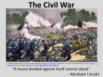 The Civil War - WordPress.com