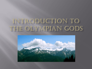 Introduction to Greco-roman Mythology