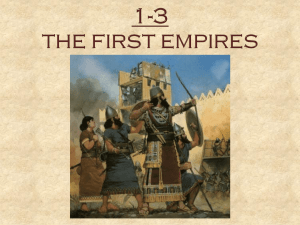 1-3 The First Empires