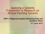 Applying a Systems Framework