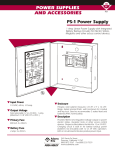 522 KB 1st Aug 2014 Adams Rite PS1 Power Supply