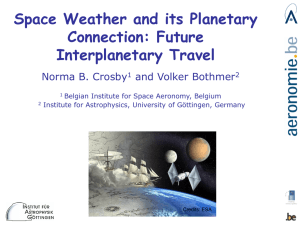 Space Weather and its Planetary Connection: Future