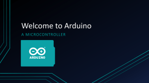 Lesson 03 - Introduction to Arduino