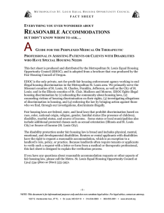 Everything You Need to Know about Reasonable Accommodations