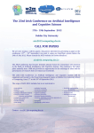 The 23rd Irish Conference on Artificial Intelligence and Cognitive