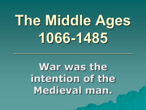 The Middle Ages 1066-1485