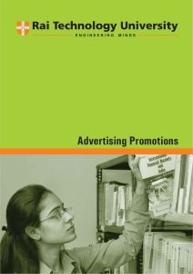 Advertising Promotions