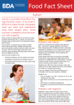 Autism - British Dietetic Association