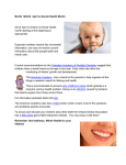 BLOG 120412 April is Dental Health Month