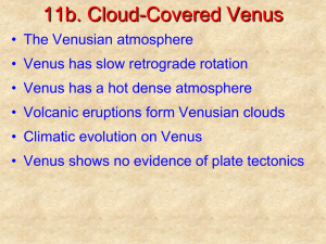 Chapter 11b: Cloud-Covered Venus PowerPoint