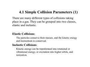 4.1 Simple Collision Parameters (1)