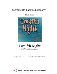 the Twelfth Night Study Guide