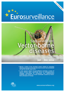 Vector-borne diseases