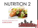 Shred Advance/Elite Nutrition Presentation 2