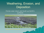 Erosion and Deposition PPT