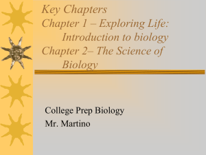 Chapter 1/2 PPT - Mr. Martino`s Blog