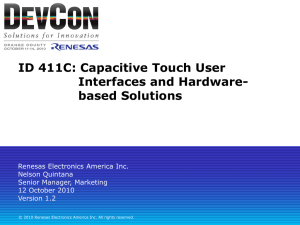 ID_411C_Quintana_Capacitivetouch_UI - Renesas e