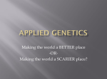 Applied Genetics - Tanque Verde School District