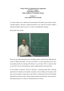 Nuclear Physics Fundamental and Application Prof. H. C. Verma