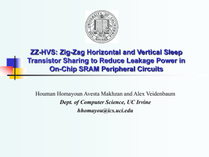 ZZ-HVS: Zig-Zag Horizontal and Vertical Sleep Transistor Sharing to