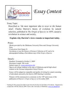 Essay Contest - University of Oklahoma
