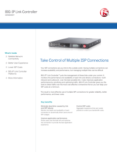Take Control of Multiple ISP Connections | F5 BIG
