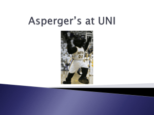 Asperger*s at UNI