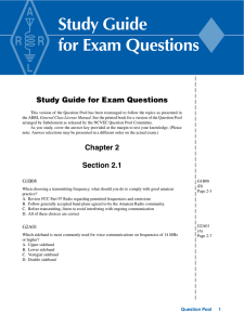 Study Guide for Exam Questions