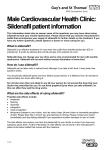 Male Cardiovascular Health Clinic - Sildenafil information for patients