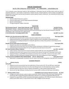 Curriculum Vitae - ASU People Search