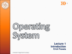 What is an Operating System? - Sekolah Tinggi Teknik Surabaya