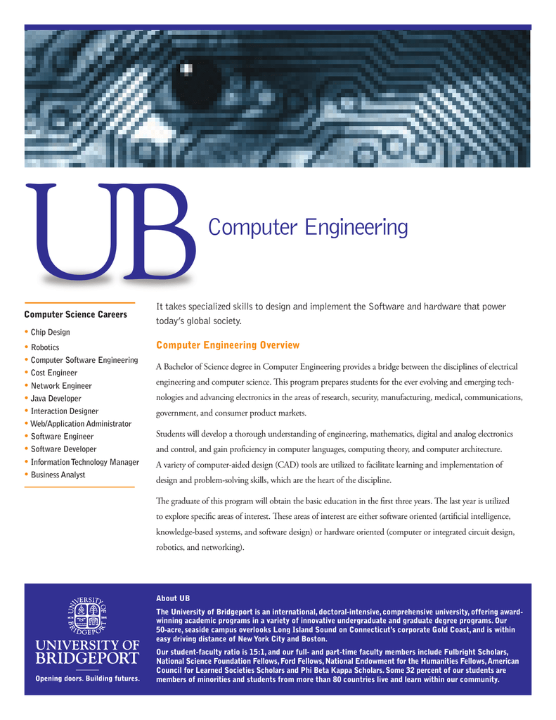 Computer Engineering - University of Bridgeport