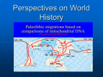 Perspectives on World History