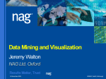 NAG Data Mining Components