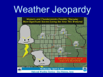 Weather Jeopardy - exploreiowageology.org