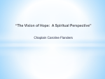 The Vision of Hope A Spiritual Perspective