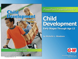 child development - Goodheart