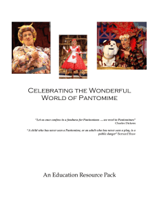 Celebrating the Wonderful World of Pantomime