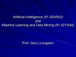 AI (91.420/91.543) and Machine Learning and Data Mining (91.421
