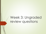 Week 3 512 review questions