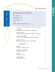 HARLEM QuARTET - Rockport Music