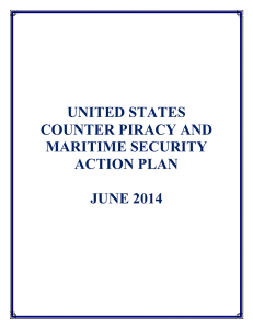 United States Counter Piracy and Maritime Security Action Plan