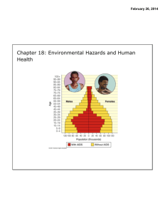 Chapter 18: Environmental Hazards and Human Health