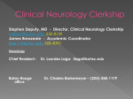 Clinical Neurosciences Clerkship